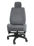 三菱 ランサーCS2A★自動車シートがリクライニングチェアー(デスクチェア)に、環境と健康に優しい椅子。パソコン作業に最適
