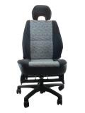三菱 パジェロミニ H56A ★自動車シートがリクライニングチェアー(デスクチェア)に、環境と健康に優しい椅子。パソコン作業に最適