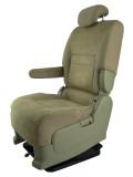 日産 セレナC25★自動車シートがリクライニングチェアー(フロアチェア)に、環境と健康に優しい椅子。パソコン作業に最適