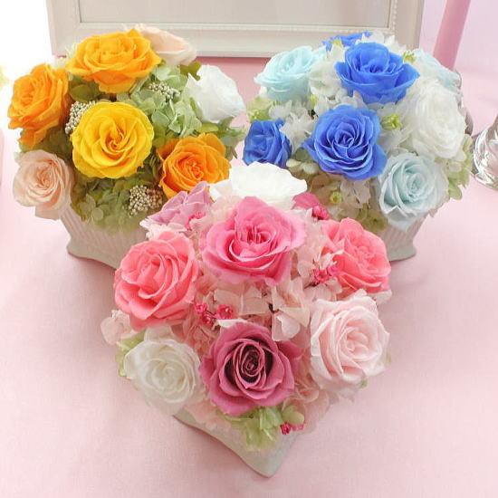 Ange Rose:アンジュローズ(プリザーブドの花束)【送料無料】