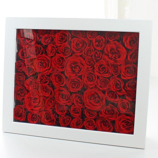 Anniversary 60th Frame : アニバーサリー60thフレーム(記念日のお祝いに花贈り)【送料無料】