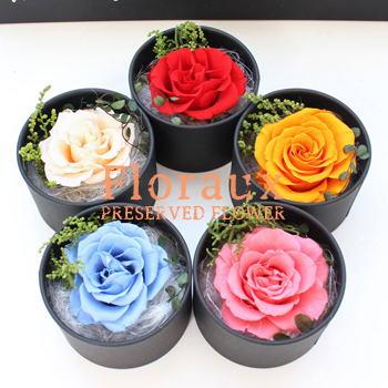 Floraux : フロロ (プリザーブドフラワー箱入りBOXアレンジ)