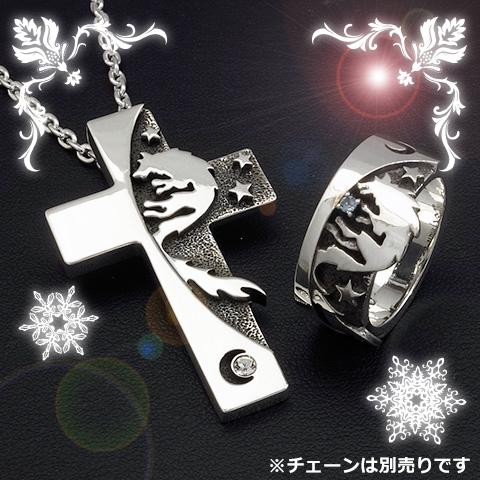 【2020クリスマスコーディネートセレクション】ムーンウルフシャドウペンダント&リング