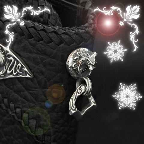【2020クリスマスコーディネートセレクション】バッファローショートウォレット&ナイトウルフウォレットハンガー