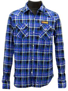 ネルチェックシャツ/ロッキントゥナイトBL