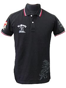 エドハーディポロシャツ(ウルフマン限定別注モデル)/リボンクロス×パルメットウルフ
