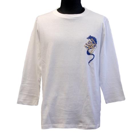 七分袖Tシャツ/ウルフ×タイガー(オーロラ)