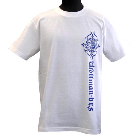 ムーンウルフロゴTシャツ/ホワイト