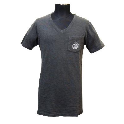フレアエンジェル スラブTシャツ/ブラック
