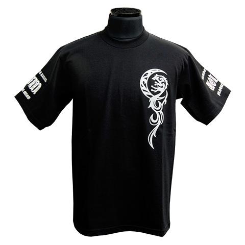 パルメットウルフw/ムーンTシャツ ブラック