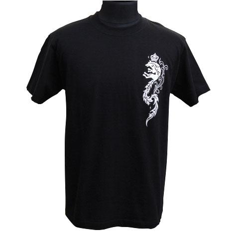 クラウンウルフTシャツ/ブラック