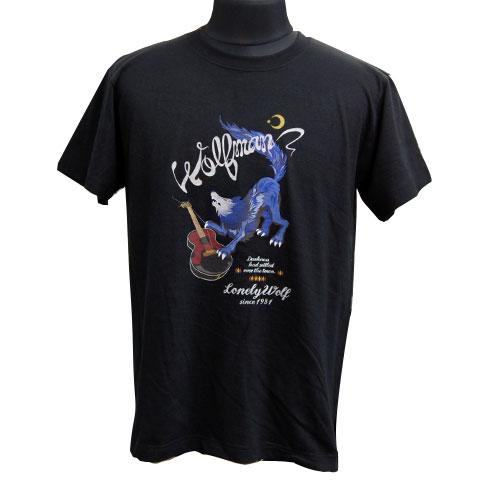 ギターウルフTシャツ