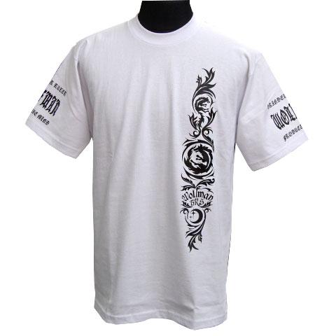 ムーンウルフヘビーウエイトTシャツ/ホワイト