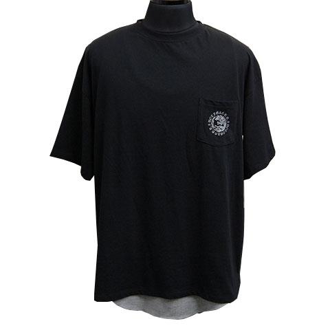 ウォーウルフTシャツ&タンクトップアンサンブル/ブラック