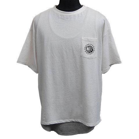 ウォーウルフTシャツ&タンクトップアンサンブル/ホワイト