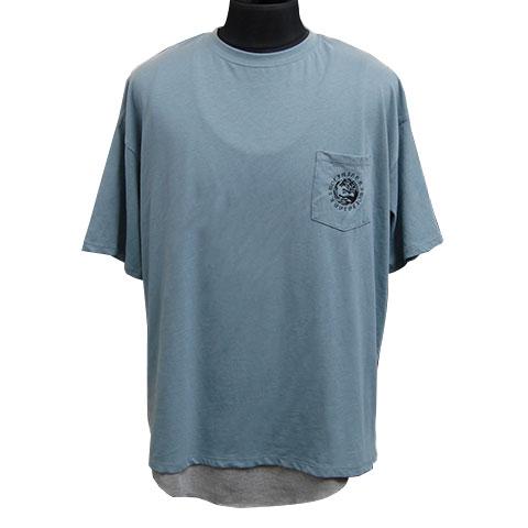 ウォーウルフTシャツ&タンクトップアンサンブル/ブルー