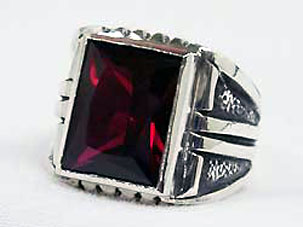 STAR KNIGHTS KING ARTHUR BIG STONE RING