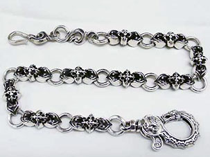 Dragon Shooting Star Wallet Chain