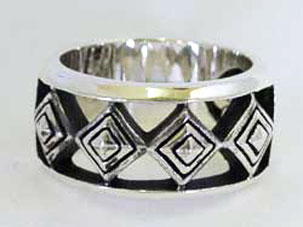 Stephen Star Select Diamond Shape Band