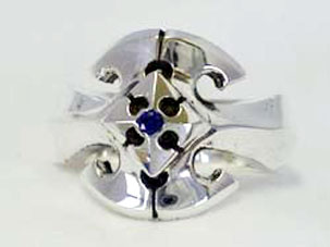 Star Knights Warrior Ring W/Stone
