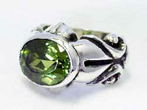 SK MARQUIS RING W/DELUXE STONE(グリーン)