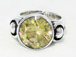 Star Knight Round Table Ring With Stone (R‐014)