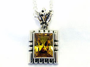 STAR KNIGHTS KING ARTHUR BIG STONE PENDANT