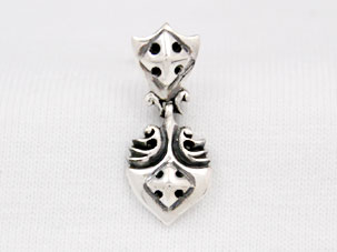 E003(FIRE AND STAR EARRING)