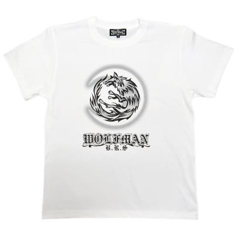 【復刻】ムーンウルフTシャツ ホワイト