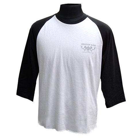 【オフィシャルサイト限定】ホワイトファングウルフラグラン七分袖Tシャツ/ホワイト