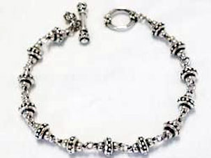 SK Ball And Chain Bracelet