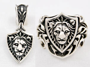 LION PENDANT & RING
