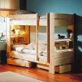 北欧のシステムベッド(二段ベッド)