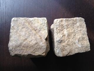 レア!砂岩ピンコロ90mm【10個】:pincoro0106