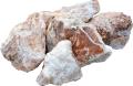 クリスタルストーン【5個】新入荷結晶の入り混じった庭石 送料格安!:niwaisi0108