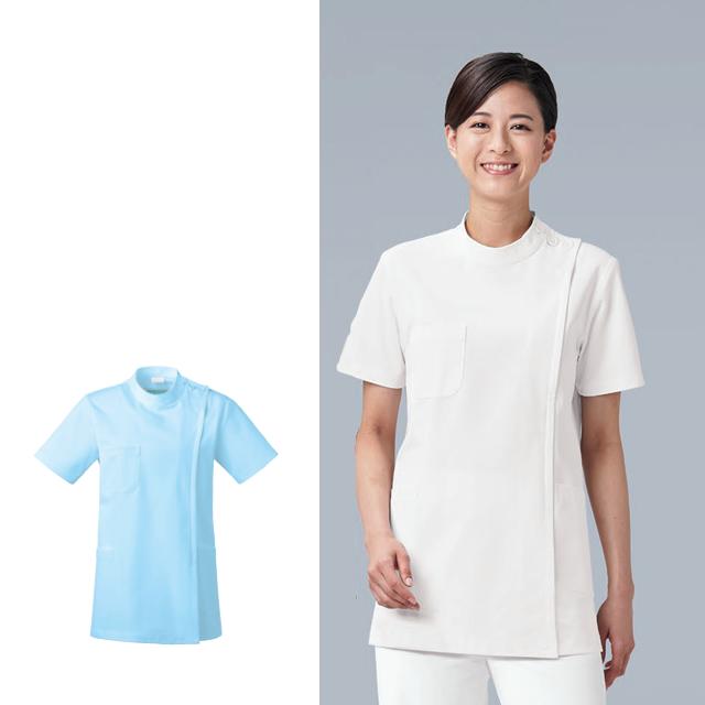 KAZEN(カゼン) 263-10・263-11 レディス医務衣半袖