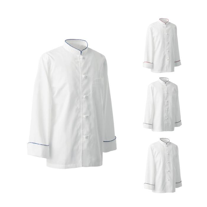 SEVEN(白洋社)BA1080 男女兼用コックコート 長袖