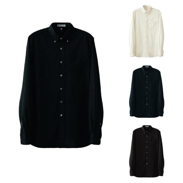 SEVEN(白洋社) CH4495 男女兼用ボタンダウンニットシャツ