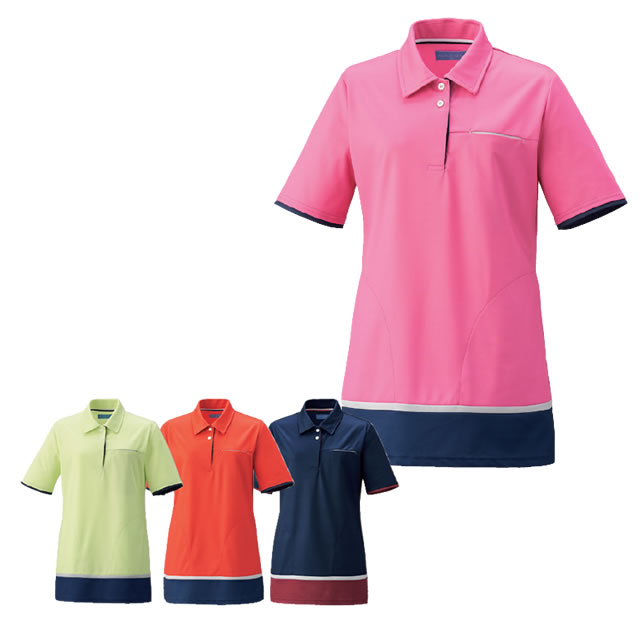 KAZEN(カゼン) KZN233 レディスニットシャツ