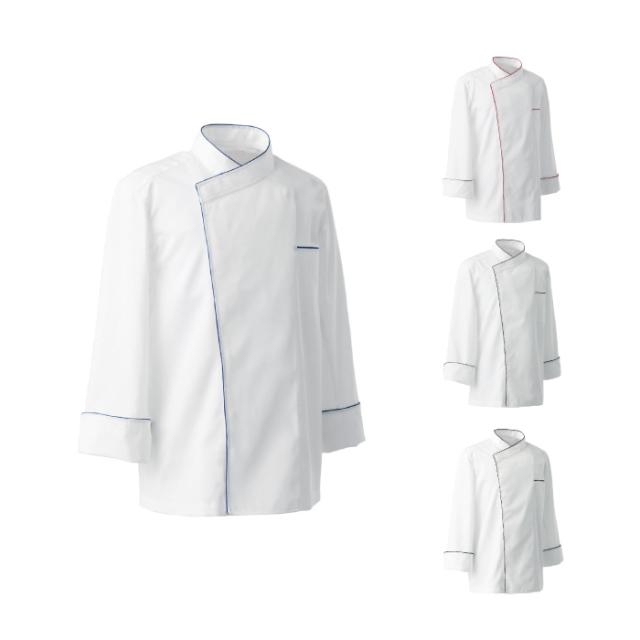 SEVEN(白洋社)BA1082 男女兼用コックコート 長袖