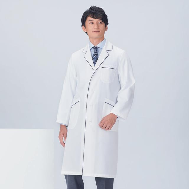 KAZEN(カゼン) 118-18 メンズコード診察衣シングル型長袖