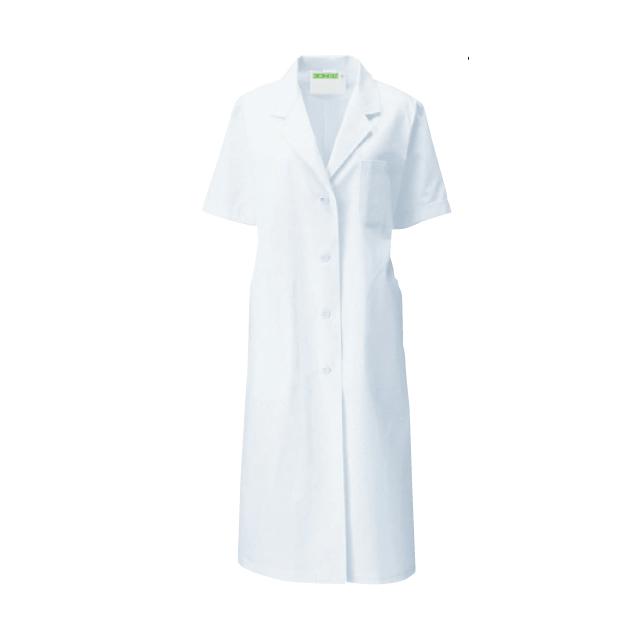 KAZEN(カゼン) 122-30 レディス診察衣 シングル型 半袖