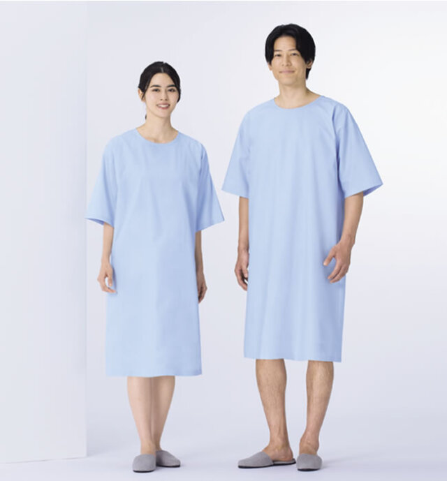 KAZEN(カゼン) 227-91 検診衣(サックス)