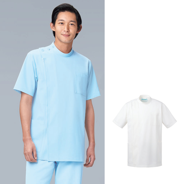KAZEN(カゼン) 253-10・253-11 メンズ医務衣半袖