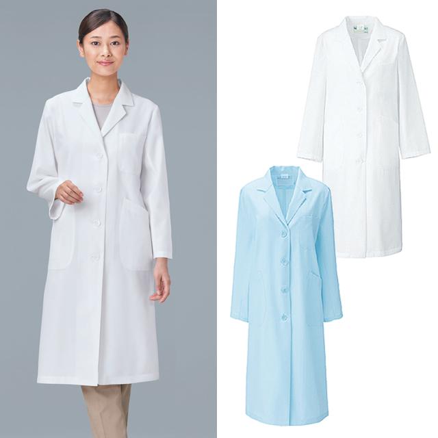 KAZEN(カゼン) 260-9 レディス診察衣シングル型長袖