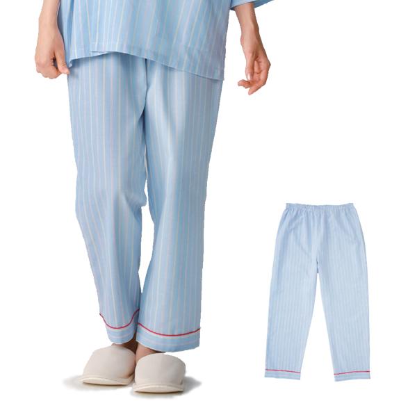 KAZEN(カゼン) 286-98 ストライプ患者衣スラックス