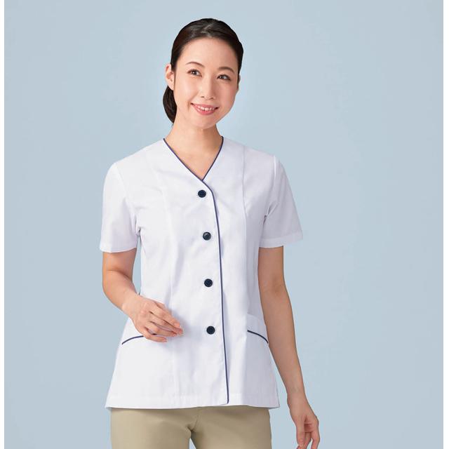 KAZEN(カゼン) APK1355 レディス調理衣半袖