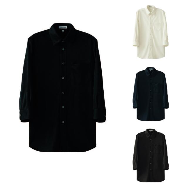 SEVEN(白洋社) CH4494 男女兼用ニットシャツ