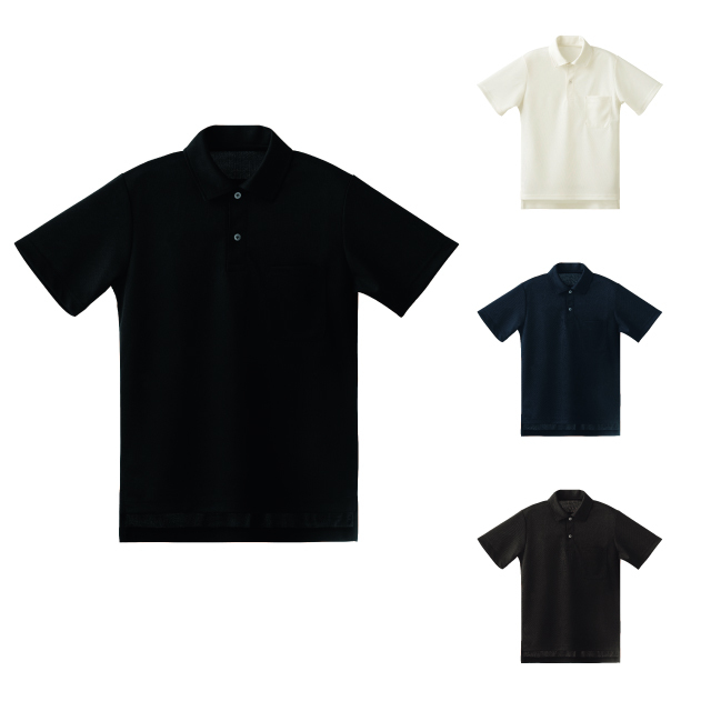 SEVEN(白洋社) CU2358 男女兼用ポロシャツ