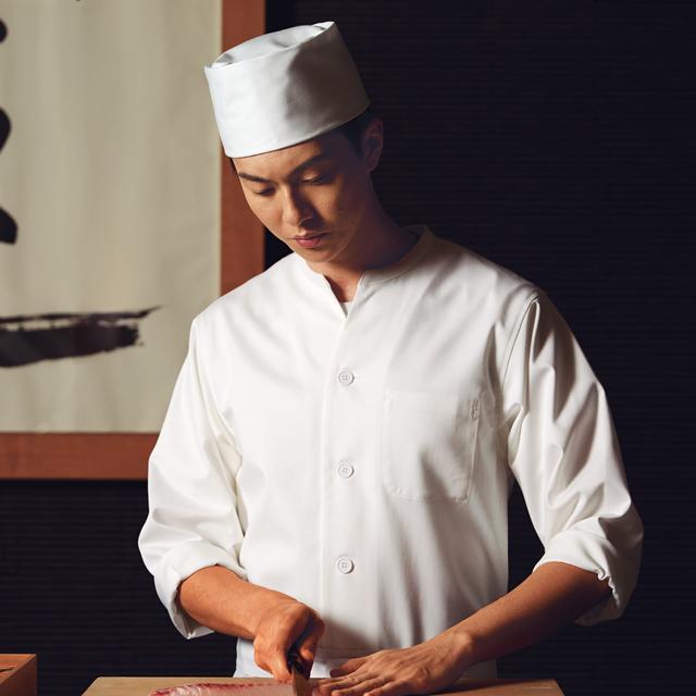 KAZEN(カゼン) HM305 調理シャツ